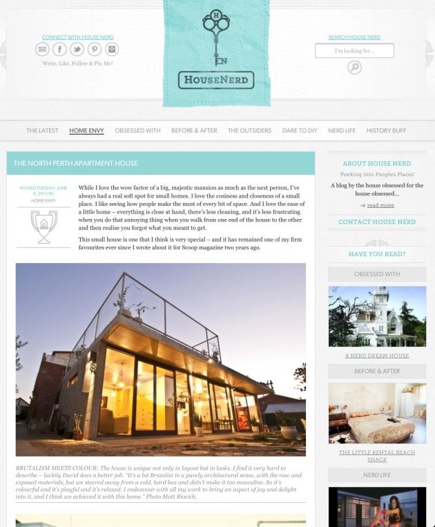 House Nerd blog